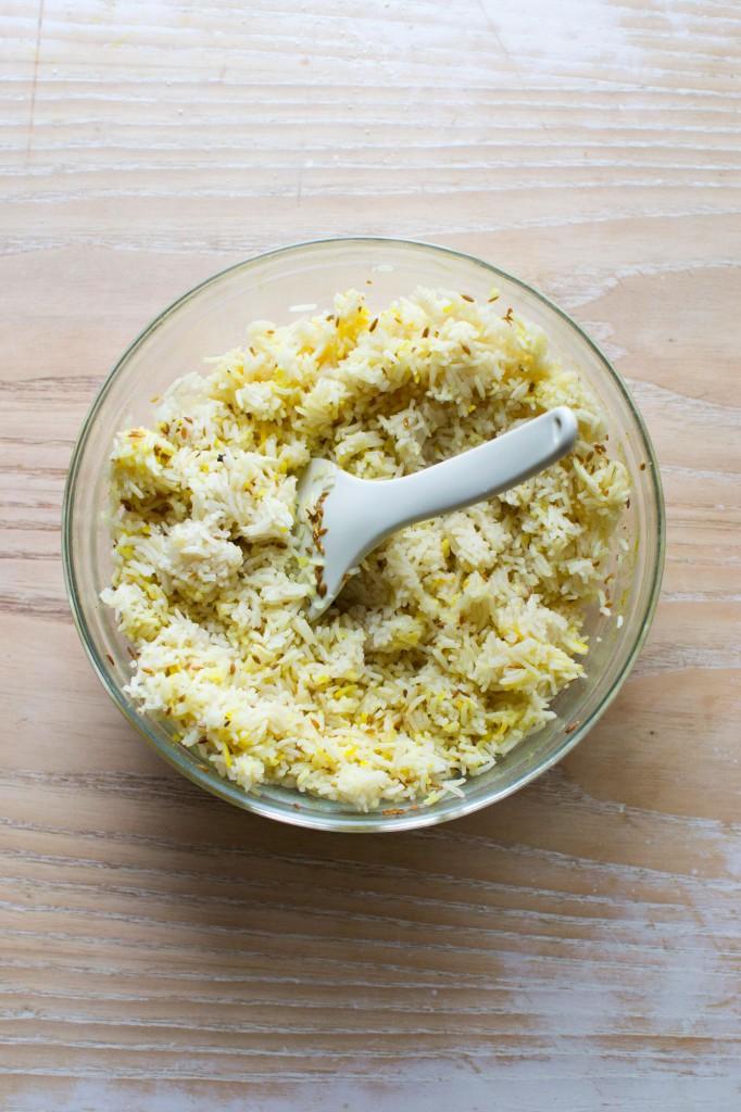 riz mélangé