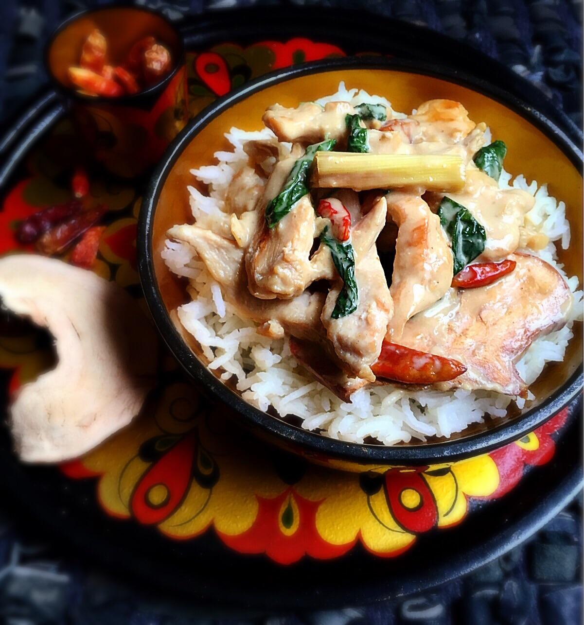 Insta recette poulet au lait de coco basilic et - Basilic seche a ne pas consommer ...