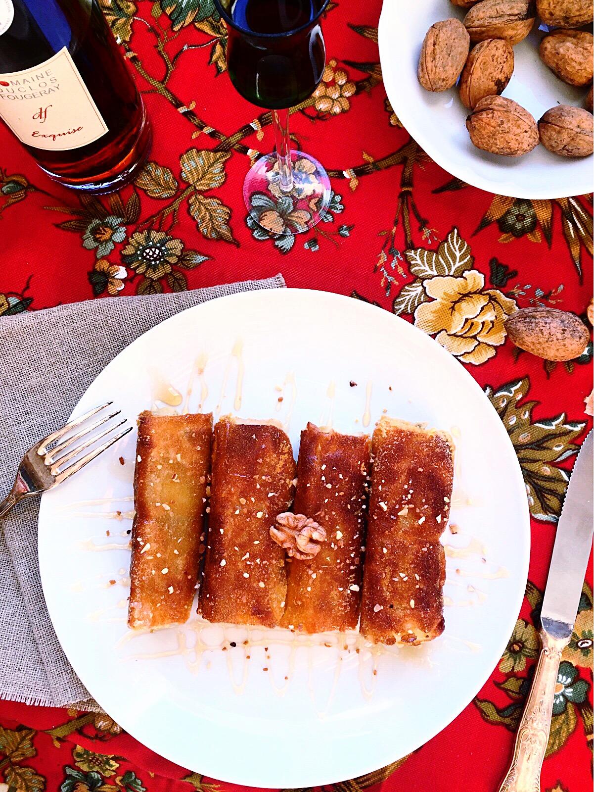 Cigares aux pommes de terre
