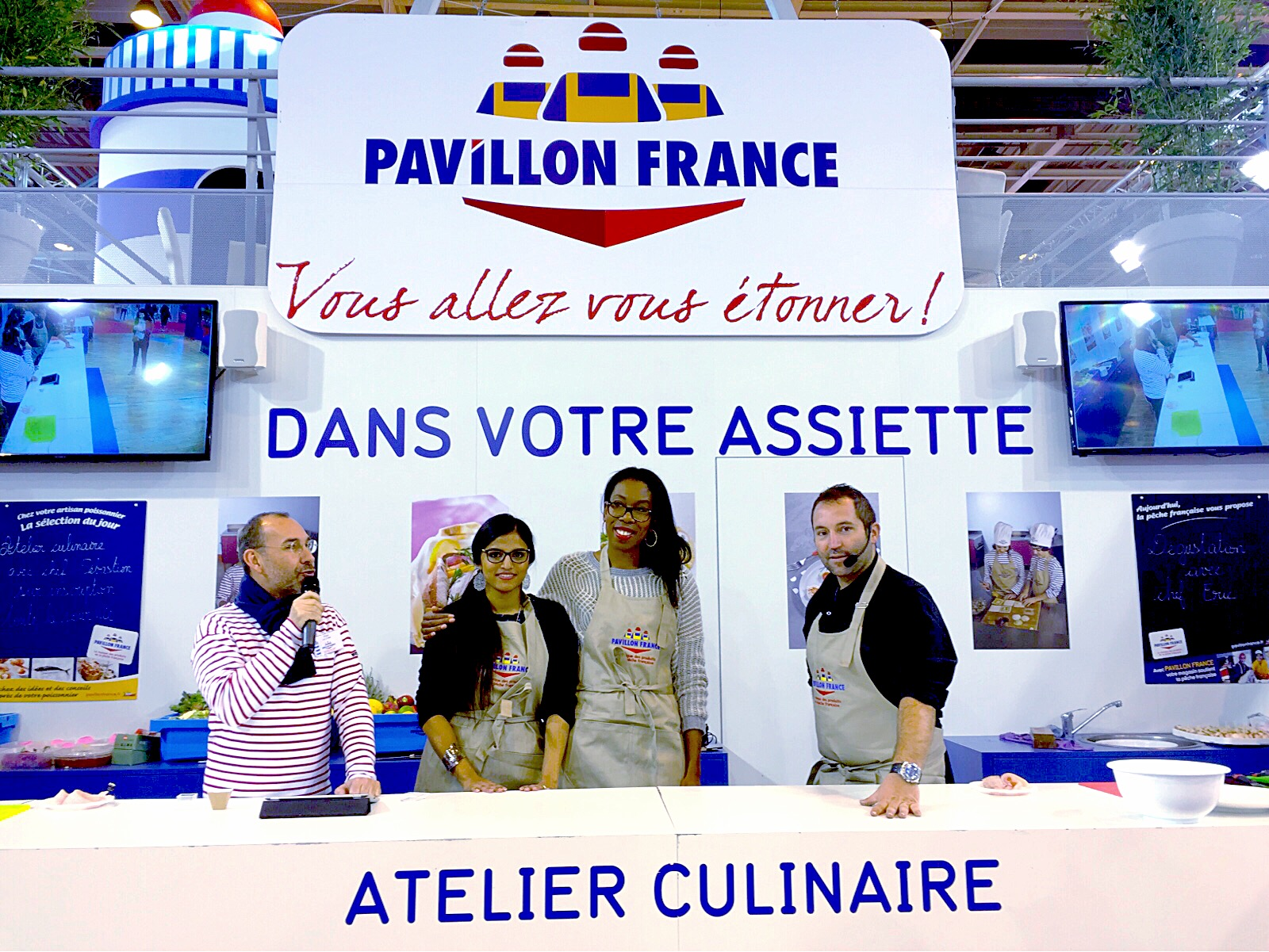 Photo de groupe Battle Food Pavillon France