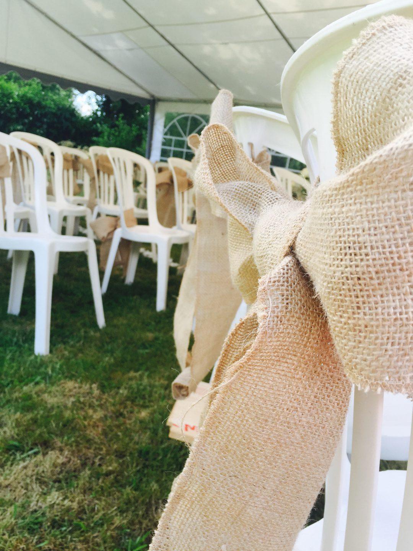 Déco chaises mariage