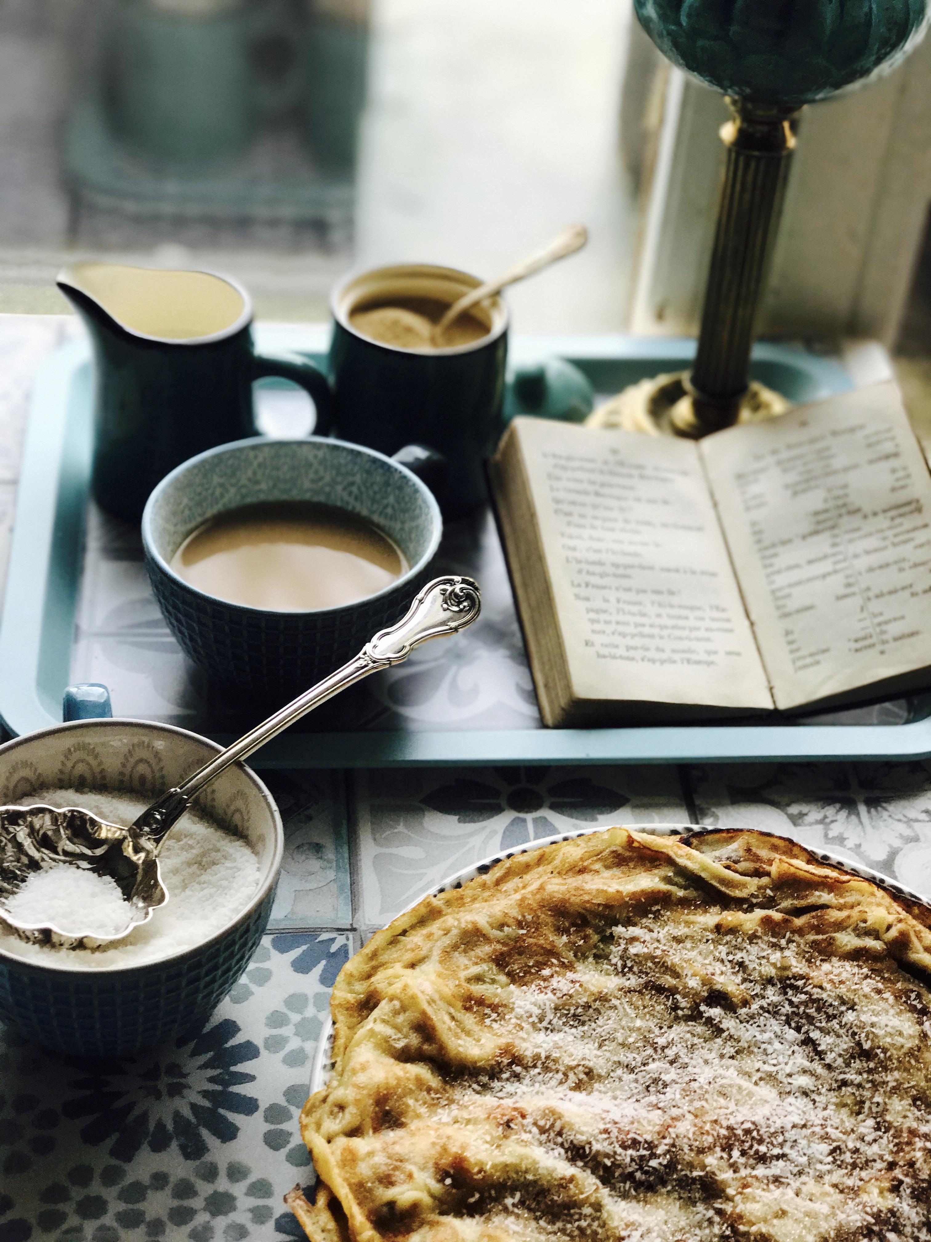 Crêpes sans gluten à la farine de manioc