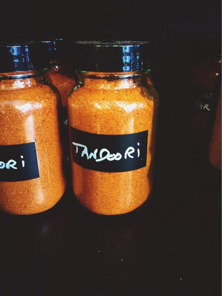 épices tandoori