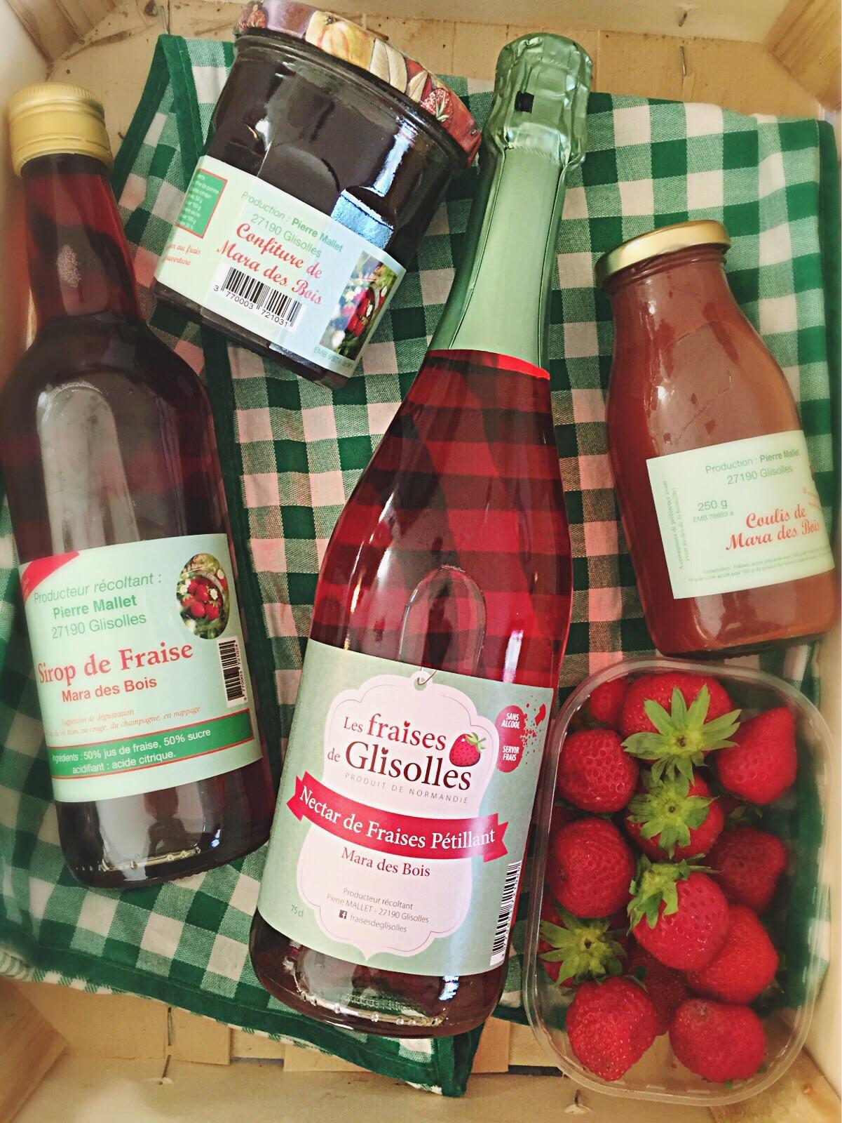 Les fraises de Glisolles