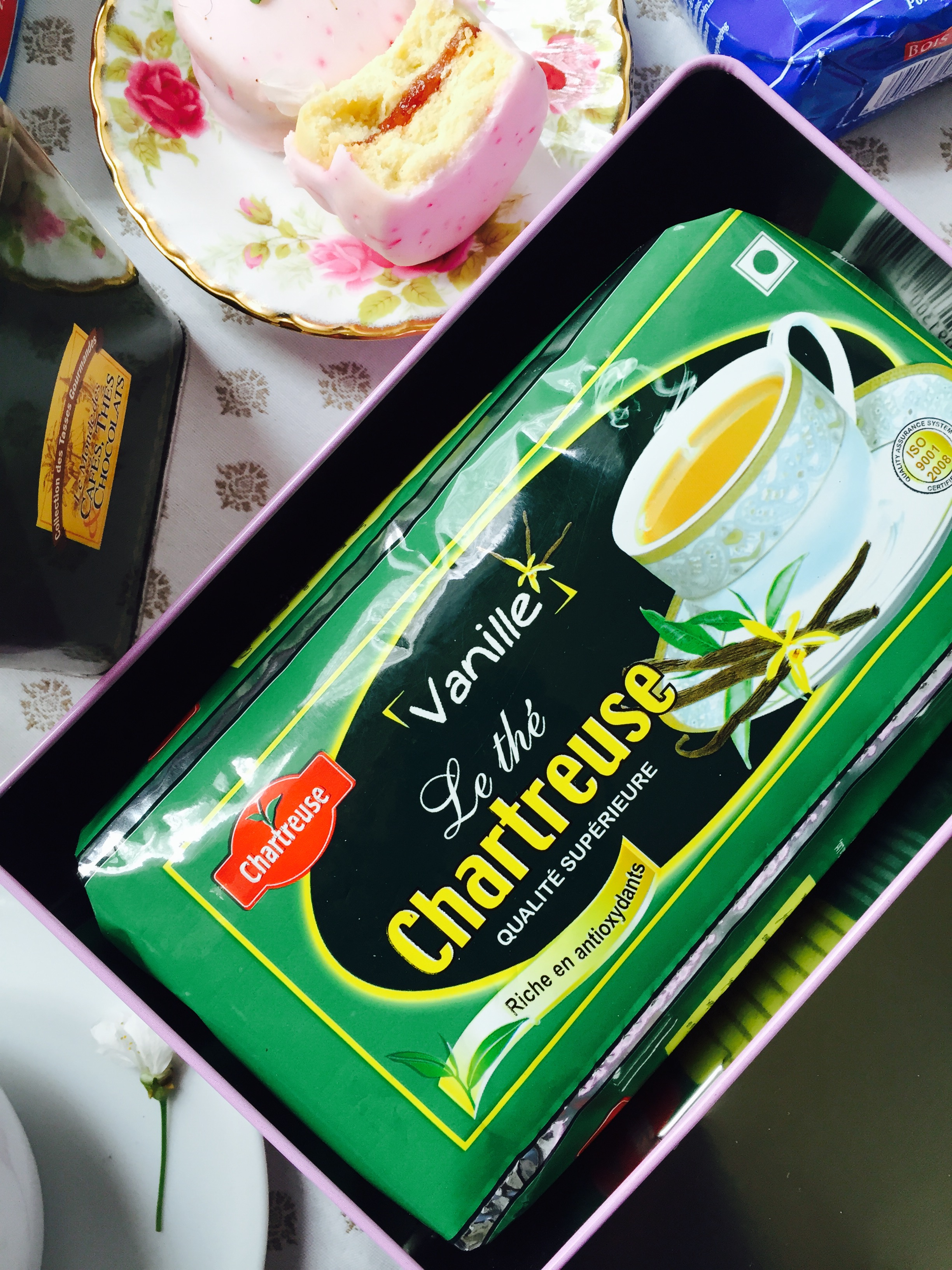 Thé Chartreuse