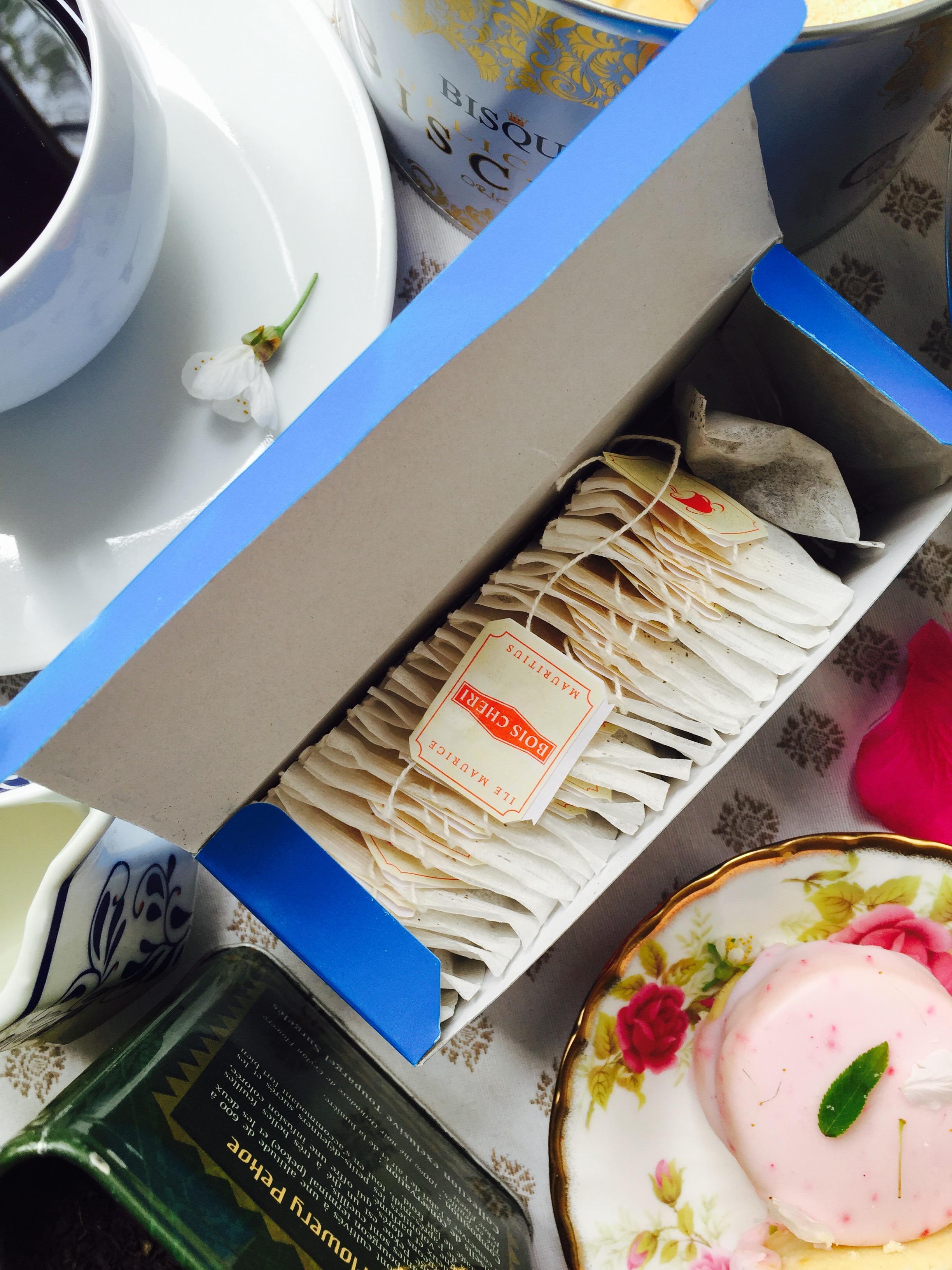 Sachets de thé Bois Chéri