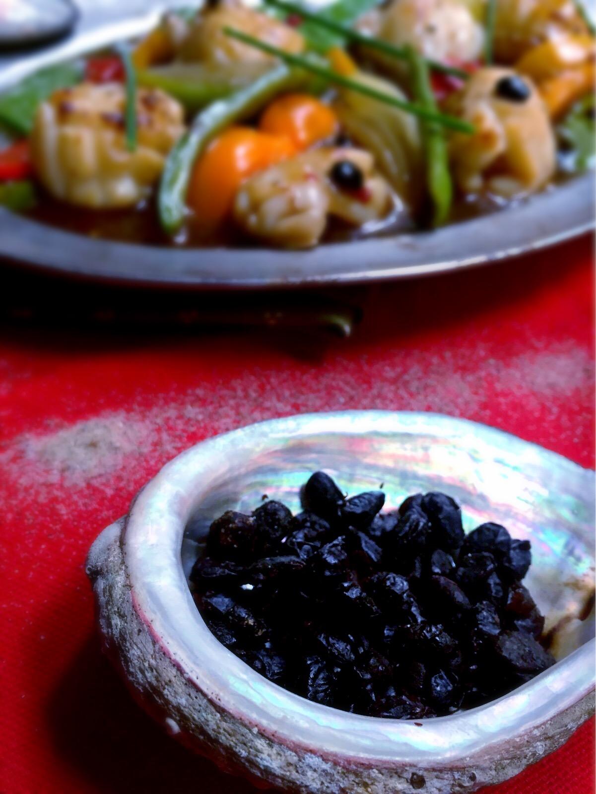 Haricots noirs fermentés